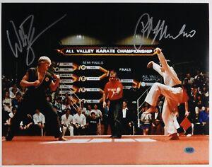 The-Karate-Kid-JSA-Signed-Autograph-11-x-14-CAS-Ralph-Macchio-William-Zabka
