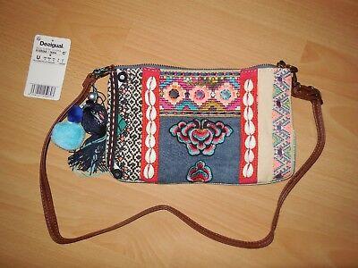 Original Desigual Tasche Elmira Silovana Bunt NEU