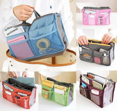 Travel Insert Women Handbag Organiser Purse Large liner Organizer Tidy Bag Pouch