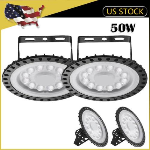4 x 50W UFO LED High Bay Light Warehouse Fixture Industry Factory Shop Shed Lamp