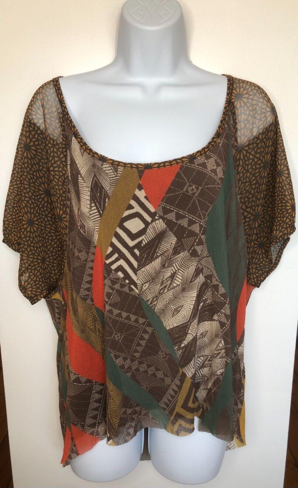 WESTON WEAR Womens Size Small Nylon Shirt Sheer M… - image 2