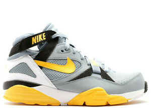 Nike-Air-Trainer-Max-91-309748-005-Bo-Jackson-2014-Retro-Shoes-Grey-Yellow-Black