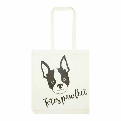 Cotton//Viscose Brand New in Packaging Avon French Bulldog Shopper