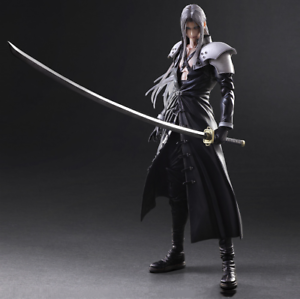 Play Arts Sephiroth Final Fantasy VII 7 Remake Action Figure Statue 25cm Loose