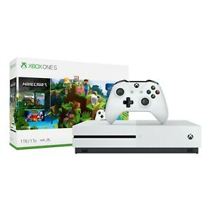 Xbox One S 1TB Minecraft Bundle