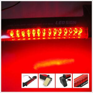 Image Is Loading Car SUV Rear 14 LED 3rd Brake Light