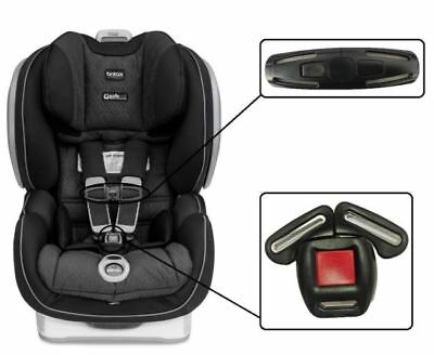 Britax Advocate ClickTight Baby Car Seat Harness Chest Clip /& Buckle Set Safety
