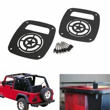 Rear Taillights Light Guard Tail Light Cover For 1997 2006 Jeep Tj Wrangler Pair Fits Jeep