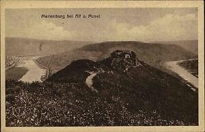 Marienburg-bei-Alf-an-der-Mosel-Ansichtskarte-1917-datiert-Blick-auf-die-Burg