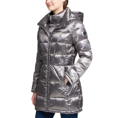 Nwt  Women's  Andrew Marc Packable  650 Fill Down Jacket Hood Size Xxl by Andrew Marc
