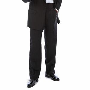 Mens Ex-Hire Black Tie Dinner Tuxedo Evening Trousers Satin Stripe Various Sizes