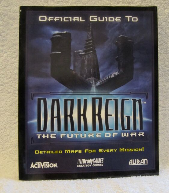 OFFICIAL GUIDE TO DARK REIGN for COMPUTER GAME - 1997