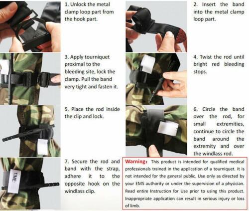 CAT Black Tourniquet Buckle First Aid Medical Tool