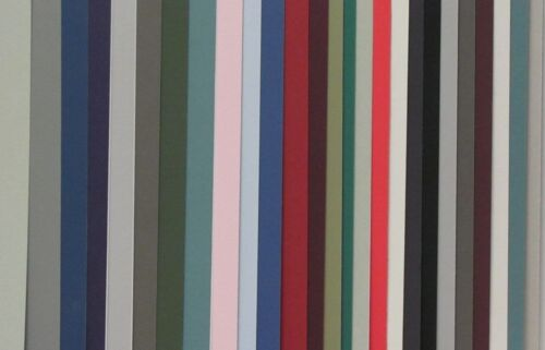 Assorted Colors No Opening Straight Cut 5x8-30 Pack Matboard
