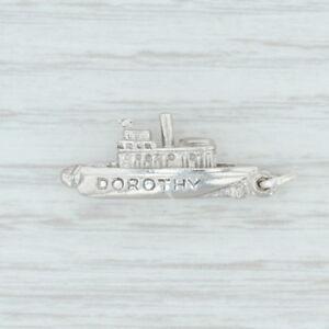 Dorothy-Ship-Charm-Sterling-Silver-925-Souvenir-Nautical-Keepsake
