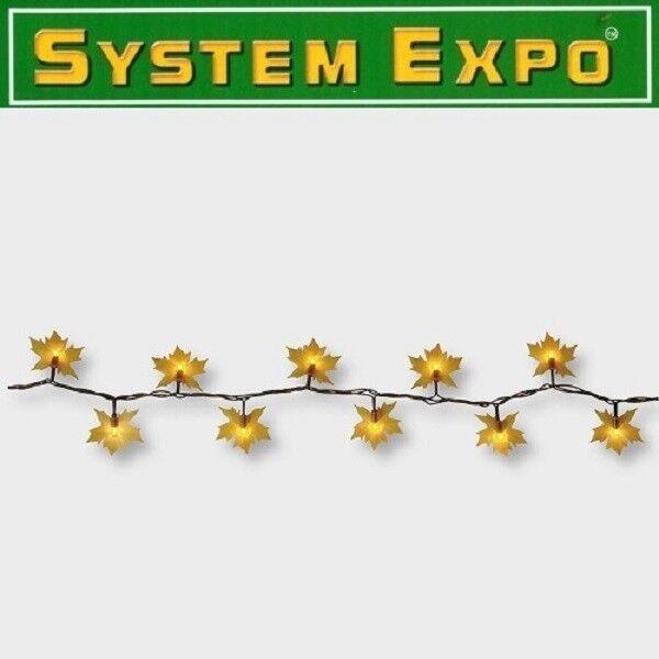 System Expo Lichterkette-Extra 50er klar 5m Leaves Best Season 484-88  | Guter Markt