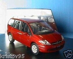 CITROEN C8 MINIVAN 2002 rouge METALLIC NOREV 1 43 ROUGE