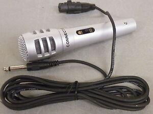 Microphone Microphone Dynamique Lightwieght Pour Scène, Pa, Dj, & Vocals Etc Xlr-6.3 Mm Jak-afficher Le Titre D'origine Ajrdwgrv-07182716-902722914