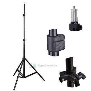 Studio Photography Light Flash Speedlight Umbrella Stand Holder Bracket Tripod 714890582118