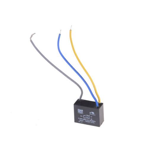 CBB61 Start Capacitor Fan Start Capacitor 1.5UF-2.5UF AC250V 50//60Hz JB