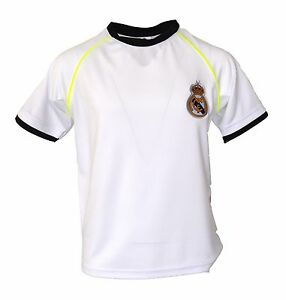 the latest 1131a 6ed6a Details about Real Madrid jersey Youth Boy Soccer Jersey Hala Madrid Madrid  Sports Luca Modric