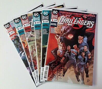 2018 DC Universe Comics ~ VF//NM Book NEW CHALLENGERS #1