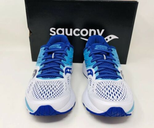 Wählen Sie 10 blau Saucony Größe Eine Schmal Weiß Damen Reite Laufschuhe 0w1qfYZq