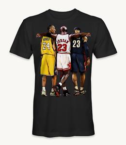 Lebron T Shirt Kobe Bryant, Michael Jordan, and Lebron James t-shirt | eBay