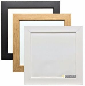 White-Black-Oak-Square-Photo-amp-Picture-Frames-Home-Decor-Poster-Frame-Multi-Size