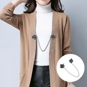 Pins-Charme-Duck-Clip-Clapps-Clips-fuer-Shirt-Collar-Cardigan-Clip-Shawl-Brooch