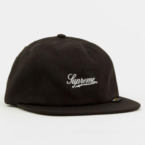 Supreme SS19 Cordura Script Logo 6-Panel Cap hat tee box camp logo hooded