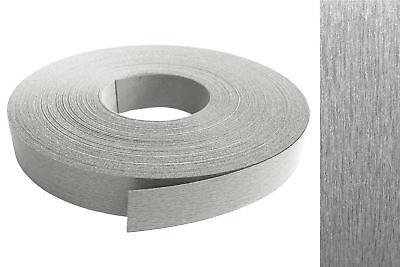 Kantenumleimer Melamin 22mm X 10m Mit Schmelzkleber In Edelstahl Va Optik Dekor Ebay