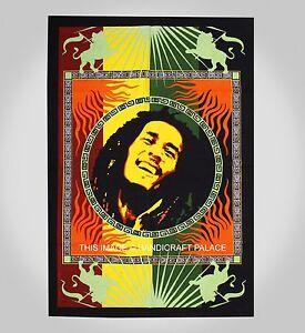 Nouvelle-Affiche-Coton-Textile-Bob-Marley-Mur-De-Drapeau-Accroche-Tapisserie