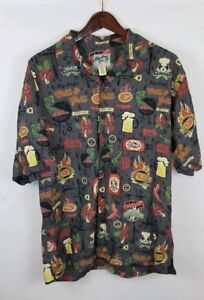 Authentic-Big-Dog-Hawaiian-Shirt-Size-Large