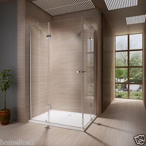 Duschkabine-Duschabtrennung-Dusche-Duschwand-Duschtasse-Eckeinstieg-8mm-120x90