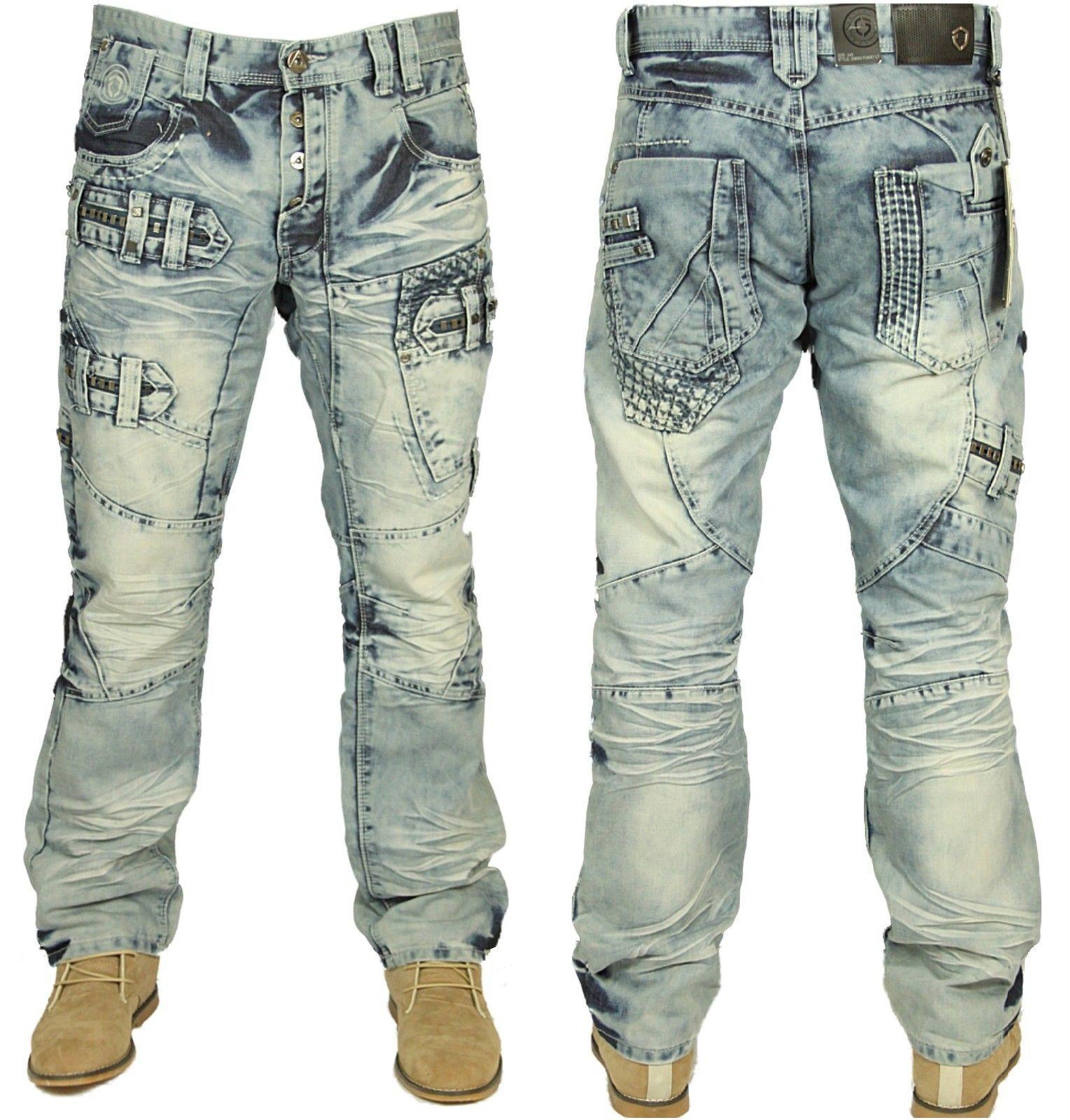 Eto Herren Irre Mode Jeans Toller Detail Em 583 - Helle Waschung  | Louis, ausführlich  | Qualität Produkt  | Bestellung willkommen