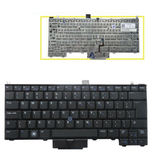 For Dell Latitude E4300 E4310 E4200 PP13S US UI Laptop Keyboard With Backlit