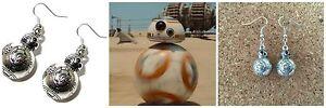Star-Wars-BB-8-Droid-Charm-Dangle-Earrings-W-Gift-Box-US-Seller