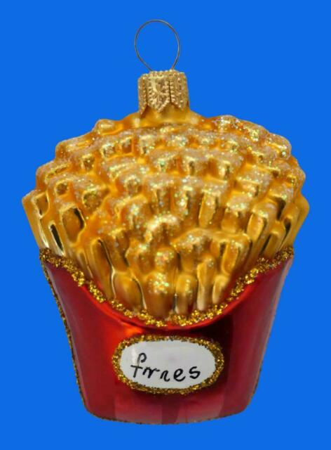 SM ORDER OF FRENCH FRIES EUROPEAN BLOWN GLASS CHRISTMAS ...