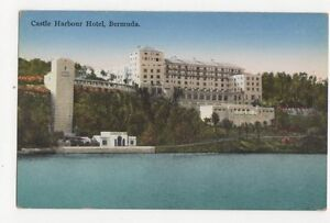 Image Is Loading Castle Harbour Hotel Bermuda Vintage Postcard 222a