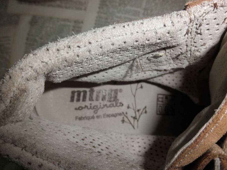 Mtng Originals Beige Suede 7.5-8US Ankle Stiefel Damenschuhe 38U 7.5-8US Suede  NWT 197e54