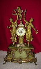 "Mathurin Moreau 29"" tall French museum clock 1800s Louis Boname Seloncourt"