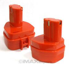2 x 12V 2.0 Amp Hour Ni-CD Pod Battery for MAKITA 192407-5 192271-4 632268-6