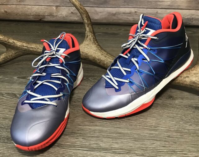 new style 80569 685bf NIKE AIR JORDAN CP3.VII AE Chris Paul Basketball Shoes Sz 12 Mens 644805 407