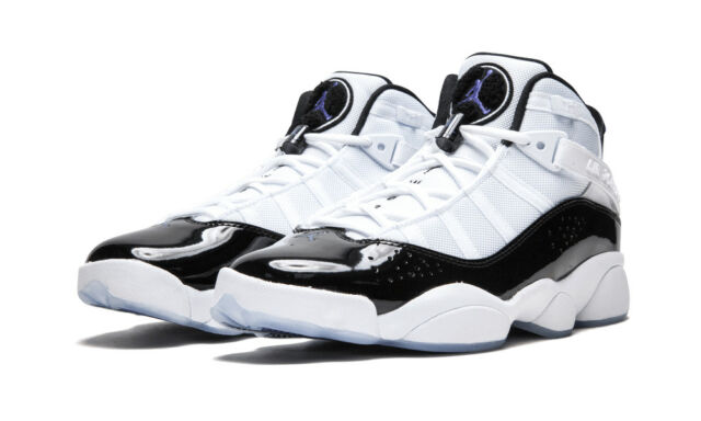 the latest f64e3 6d813 Air Jordan 6 Rings Concord XI White Black Sz 11 322992-104 Authentic