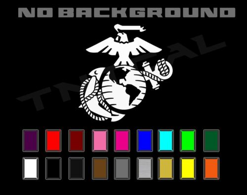 USMC Marine Corps Military Eagle Anchor Globe Car Truck Window  Decal Sticker