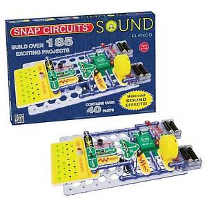 elenco electronics 185 sound electronic snap circuits kit for saleNew Snap Circuitsr Sound Scs185 Gtin Stock Now #3