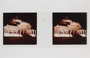 Cochinchine-Illuminations-Exposition-Coloniale-Paris-1931-Plaque-verre-stereo