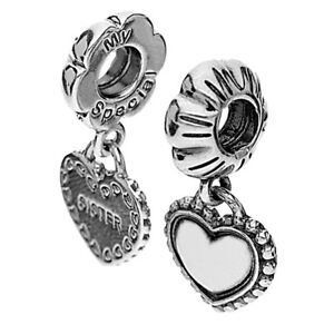 649102ec1 Image is loading Authentic-Pandora-Sterling-Silver-Charm-My-Special-Sister-