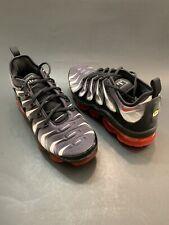 Nike Air Vapormax Plus TN Shoes Black Red UK 9 EU 44 Aq8632